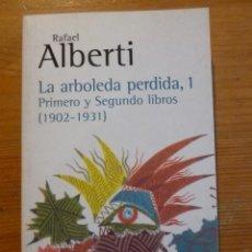 Libros: LA ARBOLEDA PERDIDA. RAFAEL ALBERTI. 3 VOL. ALIANZA EDITORIAL. . Lote 47958176