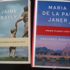 Livros: LOTE LIBROS PREMIO PLANETA 2005 Y FINALISTA - A ESTRENAR. Lote 49157394