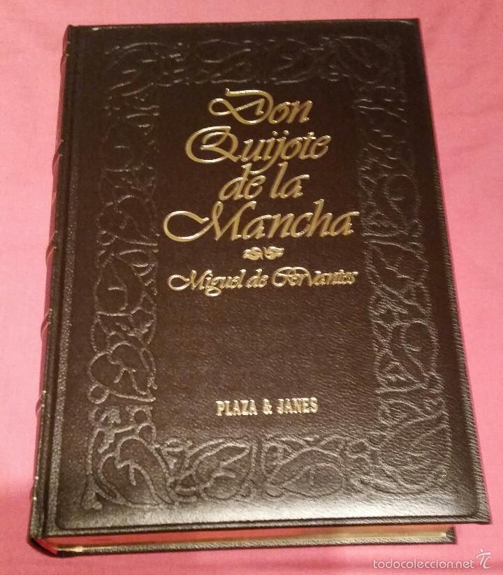 DON QUIJOTE DE LA MANCHA, PLAZA & JANES, EDICION 1992 (Libros Nuevos - Narrativa - Literatura Española)