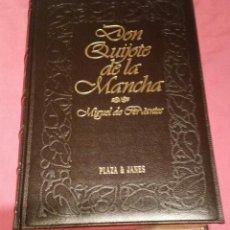 Libros: DON QUIJOTE DE LA MANCHA, PLAZA & JANES, EDICION 1992. Lote 57391708
