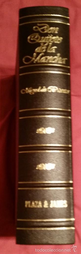 Libros: DON QUIJOTE DE LA MANCHA, PLAZA & JANES, EDICION 1992 - Foto 2 - 57391708