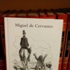 Libros: DON QUIJOTE DE LA MANCHA. MIGUEL DE CERVANTES. EDICIÓN ILUSTRADA. Lote 64538249