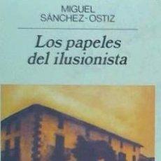 Livros: LOS PAPELES DEL ILUSIONISTA. Lote 70855039