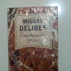Libros: CINCO HORAS CON MARIO, DE MIGUEL DELIBES. Lote 89855676