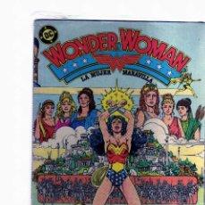 Livres: WONDER WOMAN - LA MUJER MARAVILLA - COLECCION COMPLETA DE 11 NUMEROS - EDITORIAL ZINCO. Lote 96700527