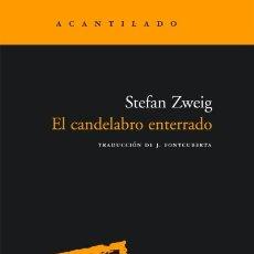 Libros: EL CANDELABRO ENTERRADO EL ACANTILADO. Lote 104281103