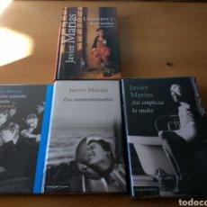 Libros: PACK JAVIER MARÍAS. Lote 107198979