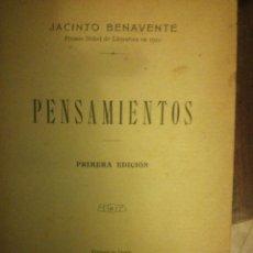 Libros: PENSAMIENTOS JACINTO BENAVENTE. Lote 108892243