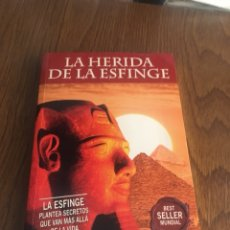 Libros - LIBRO LA HERIDA DE LA ESFINGE. TERENCI MOIX - 109002316