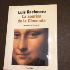 Libros: LA SONRISA DE LA GIOCCONDA DE LUIS RACIONERO. Lote 109589767
