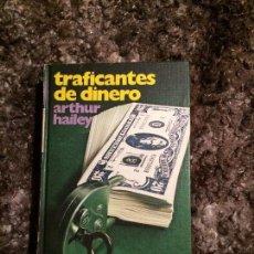 Libros: TRAFICANTES DE DINERO DE A. HAYLER. Lote 109591475