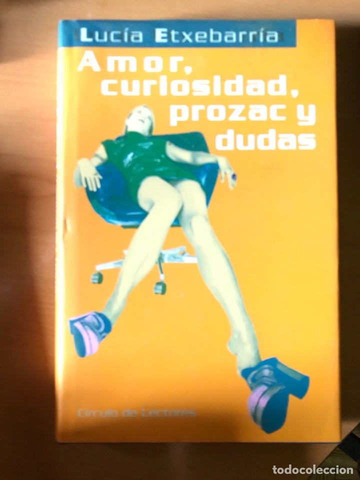 LIBRO DE LUCIA ETXEBARRIA (Libros Nuevos - Narrativa - Literatura Española)