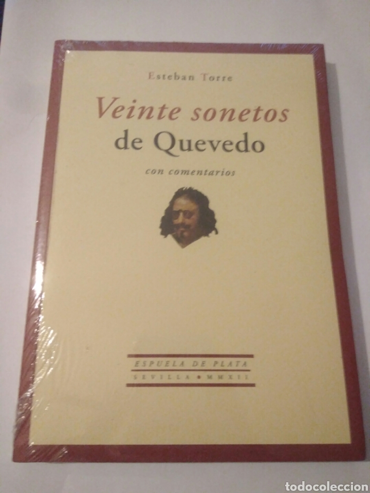 LIBRO VEINTE SONETOS DE QUEVEDO,ESTEBAN TORRES,PRESINTADO.ENVIO CERTIF.GRATIS (Libros Nuevos - Narrativa - Literatura Española)