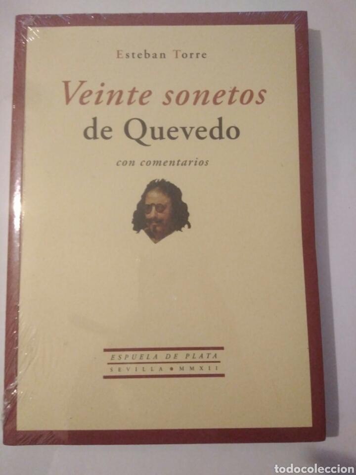 Libros: Libro veinte sonetos de quevedo,esteban torres,presintado.envio certif.gratis - Foto 2 - 116651598