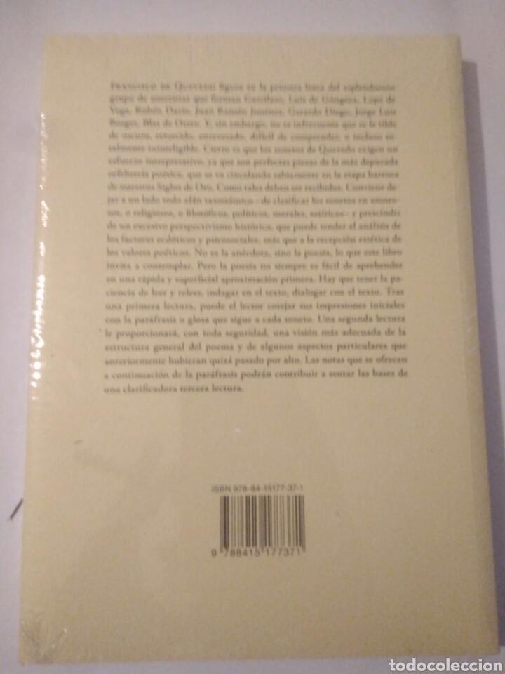 Libros: Libro veinte sonetos de quevedo,esteban torres,presintado.envio certif.gratis - Foto 3 - 116651598