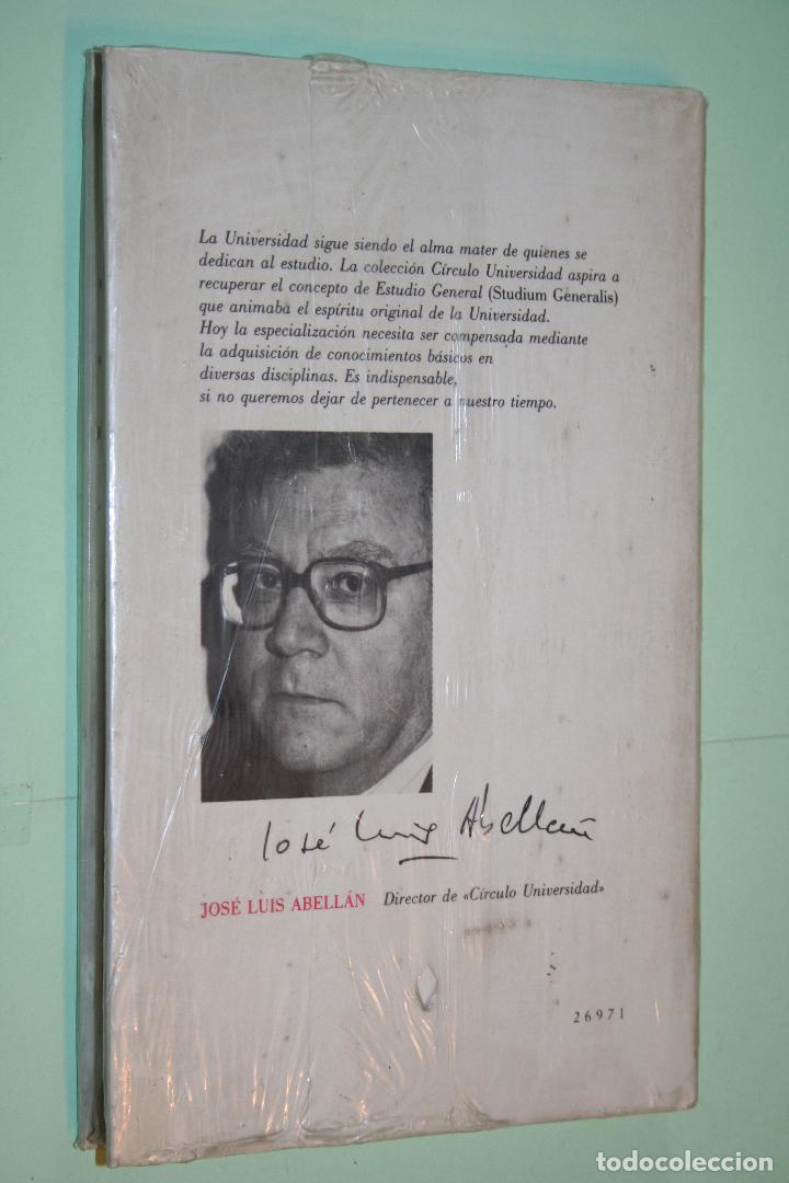 Libros: FUNDAMENTOS SOCIOLOGIA DE LITERATURA *** COLECCIÓN CIRCULO UNIVERSIDAD (1988) *** PRECINTADO - Foto 2 - 120713455