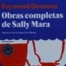 Libros: OBRAS COMPLETAS DE SALLY MARA. Lote 125904352