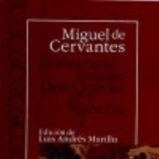 Libros: INGENIOSO HIDALGO DON QUIJOTE DE LA MANCHA I , EL CASTALIA EDICIONES. Lote 67912145