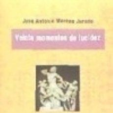 Libros: VEINTE MOMENTOS DE LUCIDEZ. Lote 70630027
