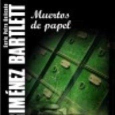 Libros: MUERTOS DE PAPEL. Lote 70902407