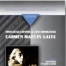 Libros - Novelistas españoles contemporáneos : Carmen Martín Gaite (vídeo) - 70846803