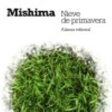 Libros: NIEVE DE PRIMAVERA. Lote 70908995