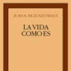 Libros: LA VIDA COMO ES . EDITORIAL CASTALIA. Lote 91191764