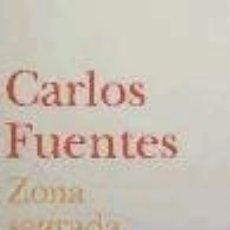 Libros: ZONA SAGRADA. Lote 100344738