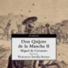 Libros: DON QUIJOTE DE LA MANCHA (II). Lote 67908899