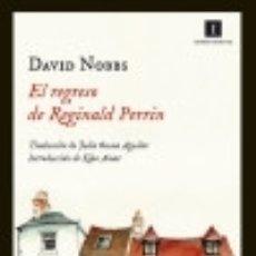 Libros: EL REGRESO DE REGINALD PERRIN. Lote 128543094