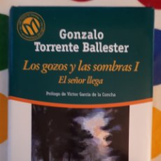 Libros: LIBRO LOS GOZOS Y LAS SOMBRAS I. Lote 133668725