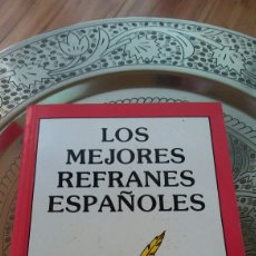 Libros: LOS MEJORES REFRANES.F.CAUDET. Lote 134087829