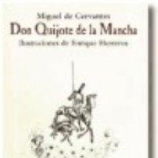 Libros: DON QUIJOTE DE LA MANCHA. Lote 134992317