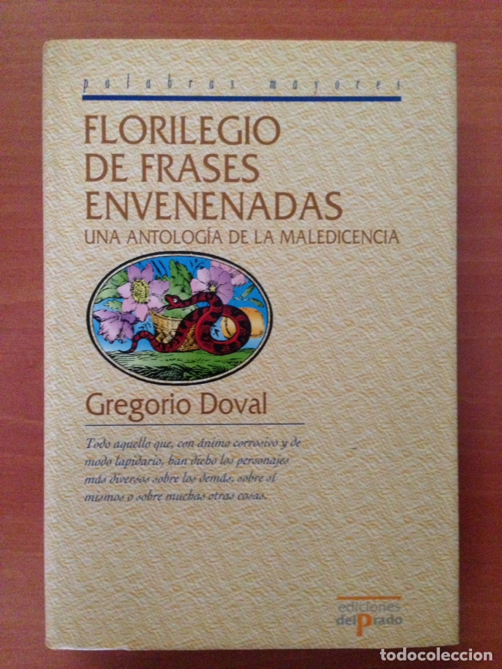 FLORILEGIO DE FRASES (Libros Nuevos - Narrativa - Literatura Española)