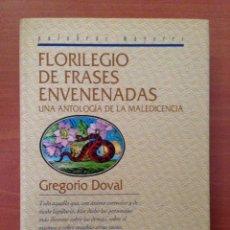 Libros: FLORILEGIO DE FRASES. Lote 135068637