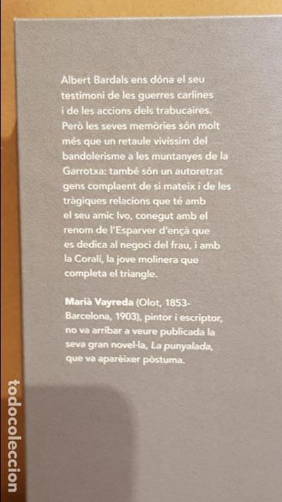 Libros: LA PUNYALADA / MARIÀ VAYREDA / NARRATIVA CATALANA / 19 - Foto 2 - 140424158