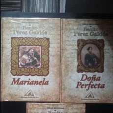 Libros: LOTE PÉREZ GALDÓS,DOÑA PERFECTA, MARIANELA, EL ABUELO, NUEVOS, PRECINTADOS. Lote 141183142