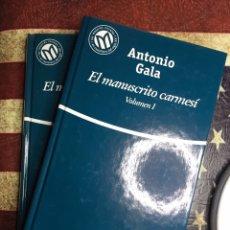 Libros: EL MANUSCRITO CARMESÍ. Lote 141814993