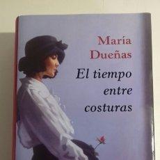 Libros: EL TIEMPO ENTRE COSTURAS DE MARIA DUEÑAS. Lote 143285994