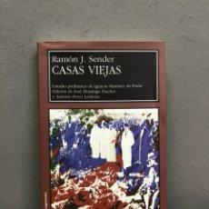 Libros: CASAS VIEJAS POR RAMON J SENDER. Lote 143405012