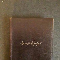 Libros: SANTA TERESA DE JESÚS. OBRAS COMPLETAS. MISTICISMO ESPAÑOL.. Lote 146261254