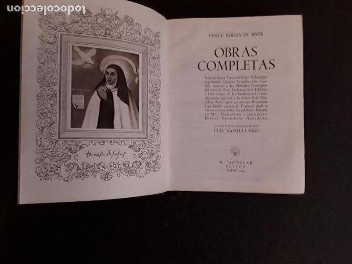 Libros: Santa Teresa de Jesús. Obras completas. Misticismo español. - Foto 4 - 146261254