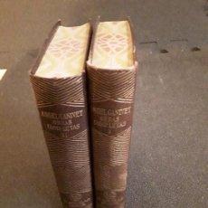 Libros: GANIVET ANGEL. OBRAS COMPLETAS. SEGUNDA MITAD DEL XIX. CLÁSICO.. Lote 146261706