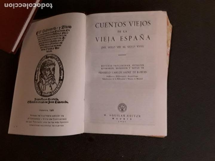 Libros: Cuentos Viejos de la Vieja España. Cuentos recogidos de la literatura española desde sus principios. - Foto 3 - 206883047