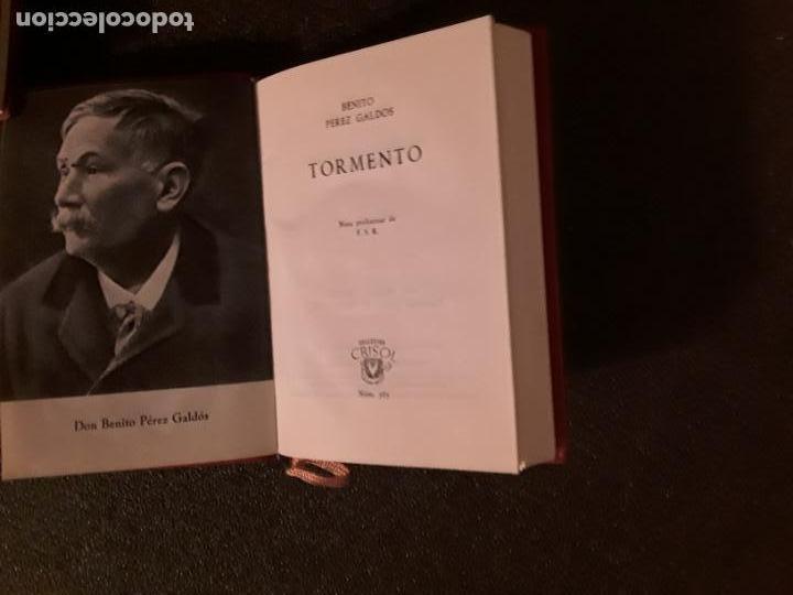 Libros: Perez Galdos, Benito. Tormento. Buena novela. - Foto 3 - 146401030