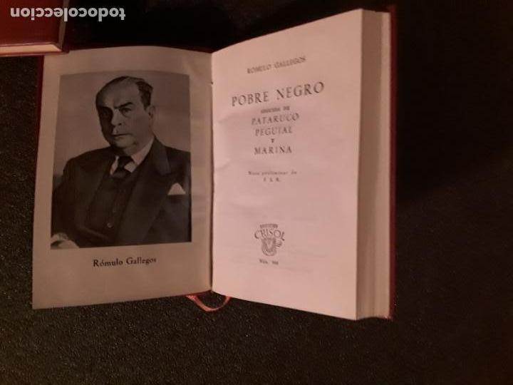 Libros: Gallegos Rómulo. Pobre Negro. Buena narración. - Foto 3 - 146403642