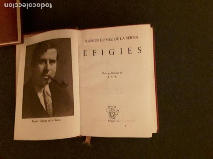 Libros: Gomez de la Serna, Ramón. Efigies. - Foto 3 - 146404238