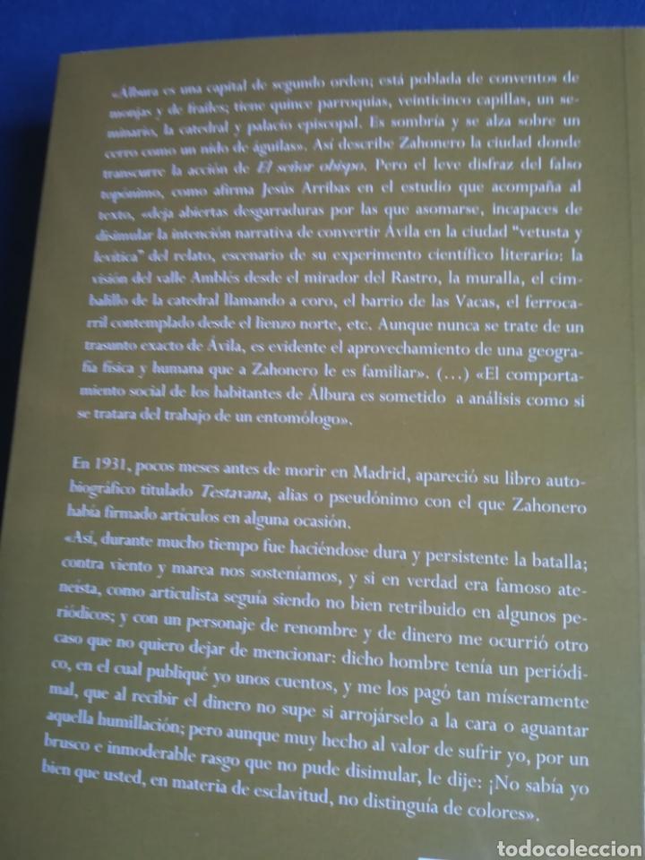 Libros: El señor obispo Testavana José Zahonero. Caldeandrin, Ávila, 2013 - Foto 2 - 146543105