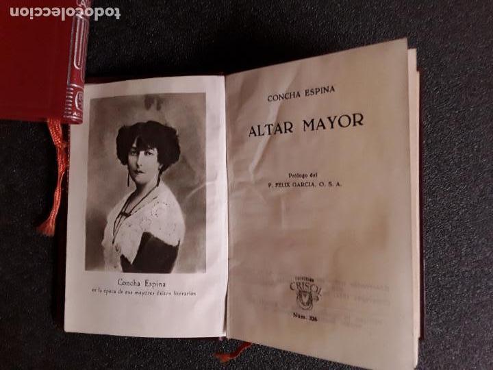 Libros: Concha Espina. Altar Mayor. - Foto 3 - 146618562