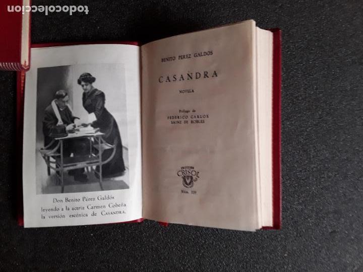PEREZ GALDOS, BENITO. CASANDRA. (CRISOL 393) (Libros Nuevos - Narrativa - Literatura Española)